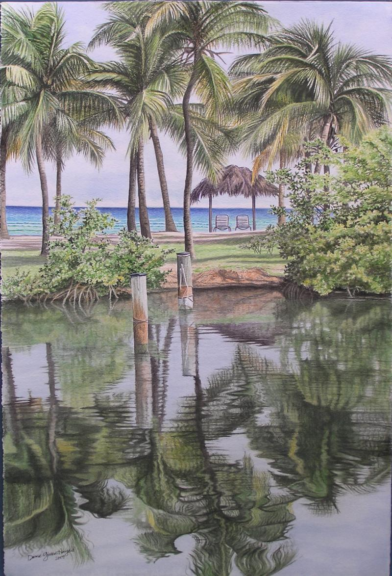 Giclee - Reflections @ Tamarind Reef